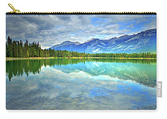 Carry-all Pouch featuring the photograph Clear Waters At Lake Annette by Tara Turner