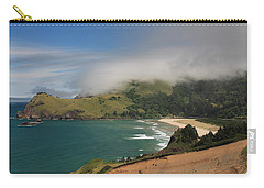 Clearing Fog Along The Oregon Coast Carry-all Pouch