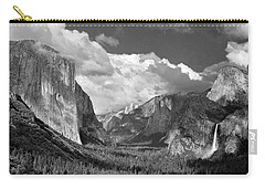 Clearing Skies Yosemite Valley Carry-all Pouch