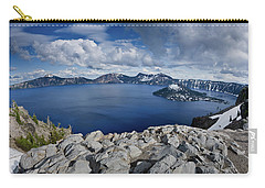 Clearing Storm At Crater Lake Carry-all Pouch