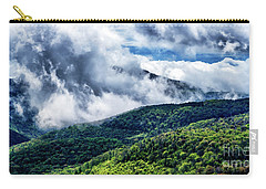 Carry-all Pouch featuring the photograph Clearing Storm Highland Scenic Highway by Thomas R Fletcher