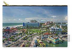Carry-all Pouch featuring the photograph Clearwater Beach Florida by Steven Sparks