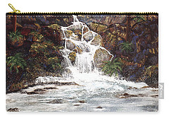 Clearwater Falls Carry-all Pouch by Diane Schuster