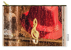 Clef And Hat Carry-all Pouch