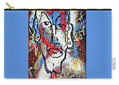 Carry-all Pouch featuring the photograph Cleft Chin by Ethna Gillespie