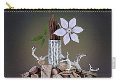 Clematis Blossom Carry-all Pouch