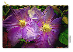 Clematis Azure Pearl Carry-all Pouch
