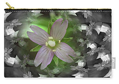 Carry-all Pouch featuring the photograph Clematis by Keith Elliott