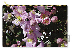 Clematis Montana  In Full Bloom Carry-all Pouch