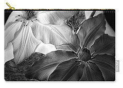 Clematis Overlay Carry-all Pouch