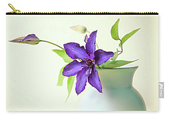 Clematis Still Life Carry-all Pouch