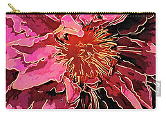 Clematis Up Close And Personal Carry-all Pouch