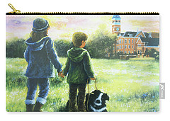 Clemson Kids Big Sister Little Brother Carry-all Pouch