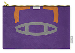 Clemson Tigers Vintage Football Art Carry-all Pouch