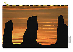 Clent Hills Sunset Carry-all Pouch