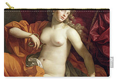 Cleopatra Carry-all Pouch by Benedetto the Younger Gennari