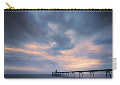 Clevedon Pier Carry-all Pouch by Dominique Dubied