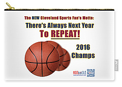 Cleveland Basketball 2016 Champs New Motto Carry-all Pouch