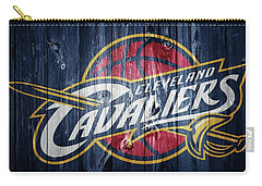 Cleveland Cavaliers Barn Door Carry-all Pouch by Dan Sproul