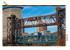 Cleveland City Of Bridges Carry-all Pouch