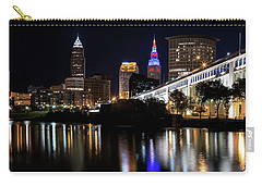 Carry-all Pouch featuring the photograph Cleveland In The World Series 2016 by Dale Kincaid