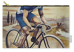 Cleveland Lesna Cleveland Gagnant Bordeaux Paris 1901 Vintage Cycle Poster Carry-all Pouch by R Muirhead Art