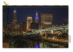 Cleveland Nightscape Carry-all Pouch