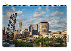 Cleveland Summer Skyline  Carry-all Pouch