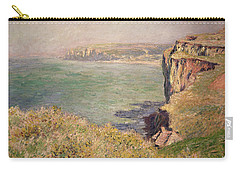 Cliff At Varengeville Carry-all Pouch