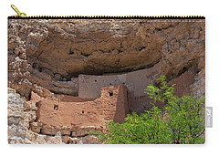 Carry-all Pouch featuring the photograph Cliff Dwellings by Arthur Dodd