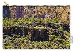 Carry-all Pouch featuring the photograph Cliff Edge by Jonny D