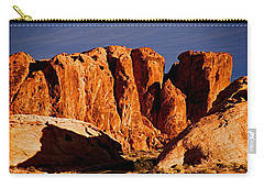 Cliffs In Valley Of Fire State Park, Nv Carry-all Pouch
