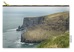 Cliffs Of Moher 1 Carry-all Pouch by Marie Leslie