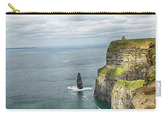 Cliffs Of Moher 3 Carry-all Pouch by Marie Leslie
