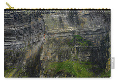 Carry-all Pouch featuring the photograph Cliffs Of Moher From The Sea Close Up by RicardMN Photography