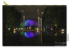Carry-all Pouch featuring the photograph Climatron 2017 by Andrea Silies