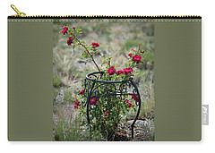 Climbing Rose Carry-all Pouch