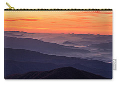 Clingmans Dome Fall Sunrise Carry-all Pouch