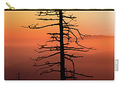Carry-all Pouch featuring the photograph Clingman's Dome Sunrise by Douglas Stucky