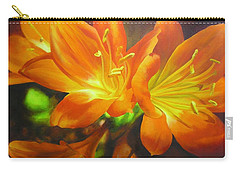 Clivias Carry-all Pouch by Chris Hobel
