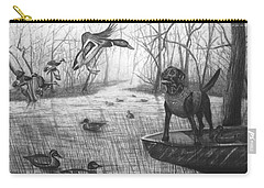 Cloaked Carry-all Pouch by Peter Piatt