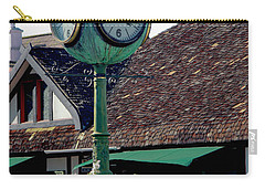 Clock Of Solvang Carry-all Pouch