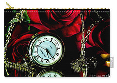 Clock-rose Carry-all Pouch