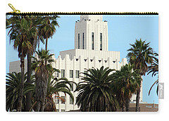 Clock Tower Building, Santa Monica Carry-all Pouch