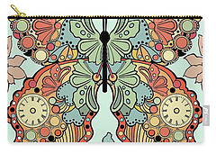 Clockwork Butterfly Carry-all Pouch