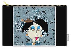 Cloe Carry-all Pouch by Iris Gelbart