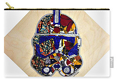 Carry-all Pouch featuring the tapestry - textile  Clone Trooper Star Wars Afrofuturist by Apanaki Temitayo M