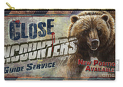 Close Encounters Bear Carry-all Pouch