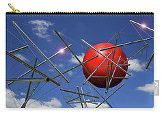 Carry-all Pouch featuring the photograph Close Encounters by Christopher McKenzie