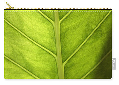 Close-up Of A Elephant Ear Carry-all Pouch